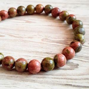 🖤3/$30🖤 Unakite Stone Bracelet